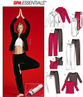 McCall's 4261 Yoga / Dance Stretch Seps Sewing Pattern