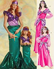 McCall's 5498 Sewing Pattern to MAKE Mermaid & Sassy Princess Costumes