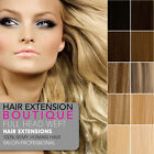 DIY WEFT Remy Human Hair Extensions Full Head
