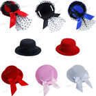 Party Wedding DIY Hair Clip Fascinator Mini Top Hat Hot