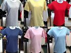 Fruit of the Loom WOMENS LADIES FITTED T-SHIRT 6 COLORS