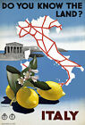 T33 Vintage Italy Italian Travel Poster A1 A2 A3