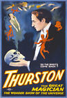 M18 Vintage Thurston Magic Magician Poster A1 A2 A3