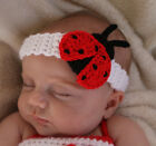 Handmade Crochet Baby/Toddler Lady Bug Headband *You Choose Size*