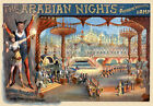 TH54 Vintage Arabian Nights Theatre Poster Art A1 A2 A3