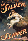 TZ31 Vintage The Silver Slipper Musical Theatre Poster Art Re-Print A1 A2 A3
