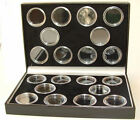 Coin Case Including Capsules for 20 Full Sovereigns - 2 colours