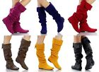 Slouchy Tall Knee High Women Fashion Boots Qupid Neo-100xx