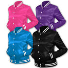 URBAN CLASSICS ► LADIES DAMEN LADY ►SHINY 2-TONE COLLEGE JACKE XS, S, M, L, XL