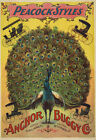 "AD40 Vintage Peacock Victorian Carriage Buggy Advertising Poster A3 17""x12"""