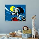 Batman Cartoon Retro Canvas Art - NEW - Choose your size - Ready to Hang