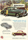 "AD85 Vintage Wolseley Motors Car Advertisment Poster Print A3 17""x12"""