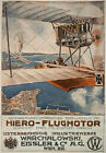 AD94 Vintage WWI 1916 German Austrian Aviation Aircraft Motors Poster A2 A3