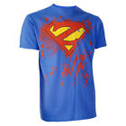 Darkside Clothing Super Zombie Man Blue Logo Short Sleeved Tshirt