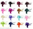 3 x 30mm Pull Bows for Wedding Pew Ends, Car Decoration, Gift Wrap, Floristry