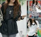 Casual Batwing Sleeve Blouse Top T-shirt 3 colour T022