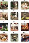 """Cork Back COASTER by Legacy, Create your own Set, Price Each-""""Cats at Play"""""""