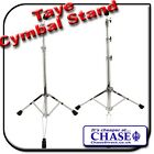 Taye Straight Cymbal Stand Drum Hardware Ball Tilter Double Braced Solid Tripod