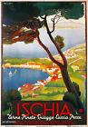 TV97 Vintage 1940's ISCHIA Island Italian Italy Travel Tourism Poster A2/A3