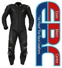 New 2012 Model RST Tractech R Black One Piece Motorcycle Race Leathers