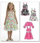 McCall's 6018 Sewing Pattern to MAKE Cute Girls' Dress & Shrug