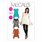 McCall's 6398 Sewing Pattern to MAKE Easy Knit FabricTop w/Flared Hem
