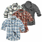 SURPLUS RAW WOODCUTTER SHIRT HEMD HOLZFÄLLER BUSINESS BUTTON DOWN T-SHIRT S-XXL