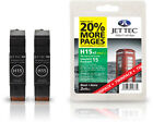 2 Jettec Remanufactured HP 15 Black Ink Cartridges for Officejet 5100 & more