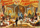 M44 Vintage Bancroft Prince Of Magicians Magic Theatre Poster A4