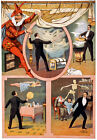 M61 Vintage 1899 Mystery Magic Magician Theatre Poster A4