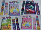 Disney Character's 8 Pc Stationery Set