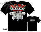 V8 ACME Speed Shop T shirt Vintage Hot Rod T Shirt 32 Ford Tee Sz M L XL 2XL 3XL