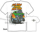 Hot Rod Gasser Rat Fink T shirt Ed Roth Shirt Sick Minds Tee, Sz M L XL 2XL 3XL