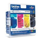 Genuine Brother LC1100VALBP Multipack Ink Cartridges for DCP MFC Printers