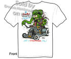 Heartbeat Stops Rat Fink T shirt Ed Roth Rat Fink Big Daddy Tee M L XL 2XL 3XL