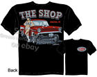 57 Chevy Gasser T-shirt 1957 Drag Race Tee PinUp Girl Shirts Sz M L XL 2XL 3XL