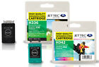 2 Remanufactured Jettec HP336/HP342 Ink Cartridges for Photosmart 7850 & more
