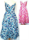 Girls 100% Cotton Floral Print Maxi Dress Multi Colour/Size 3-14 Years Available
