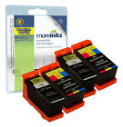 4 Compatible Dell 21/22/23/24 Black/Colour Ink Cartridges for All-in-One Printer