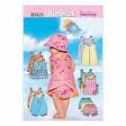 Butterick 5625 Sewing Pattern to MAKE Baby Dress, Romper Hat Playsuit Bib Pants