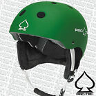 PROTEC Classic - Snowboard Helmet - Matte Green  /  S11 head protection
