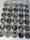 One Direction Bottle Cap Necklace U Choose from 30 Niall Harry Liam Louis Zayn