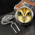Owl, Hibou, Chouette, Eule Pocket Watch