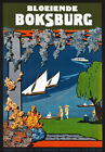 TR17 Vintage Boksburg South African Africa Travel Poster Print A1 A2 A3
