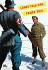 2W56 Vintage WWII Loose Talk Can Cause This - Prisoner War Poster WW2 A1 A2 A3