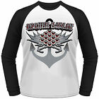 ORANGE GOBLIN Anchor LONGSLEEVE BASEBALL SHIRT NEU