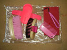Mini Grooming Kit - Includes child sized Salmon Brushes - for the horse or pony