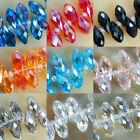 6X11mm Faceted crystal Teardrop Beads 45pcs Pick Color