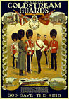 WA59 Vintage WWI British Coldstream Guards Recruitment War Poster WW1 A4