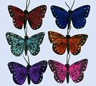 Paper Butterfly Fridge Magnet Insect Butterflies